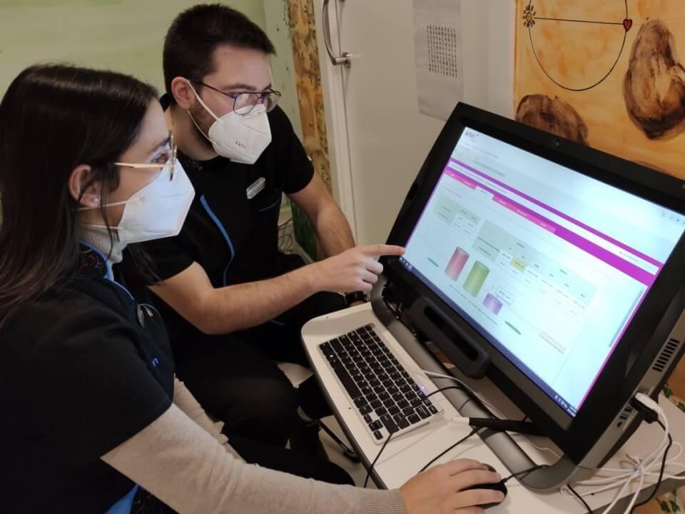 Tu Visión El Bierzo specialists using the WIVI Vision system
